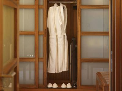 Robe in Wardrobe of Suite