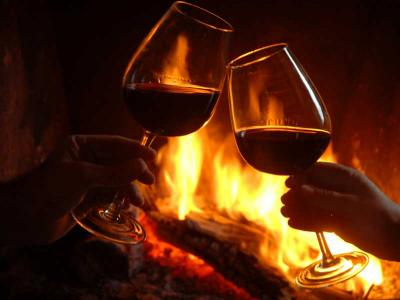 Wine By The Fire