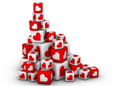 Love Heart Blocks