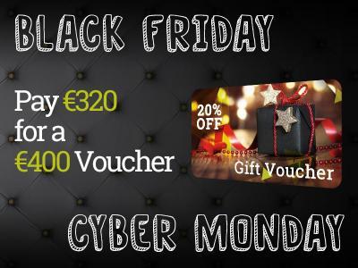 €320 for €400 Black Friday Voucher Discounts