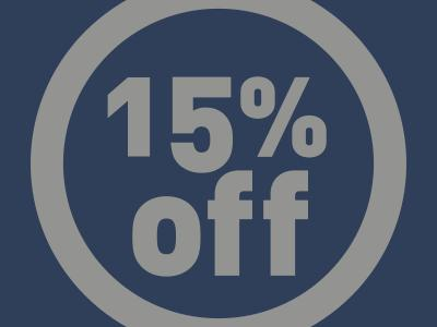 Tunbridge Wells 15% off