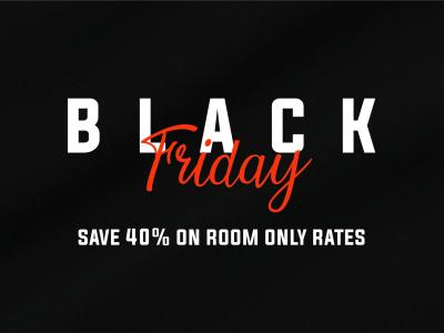Black Friday 40%