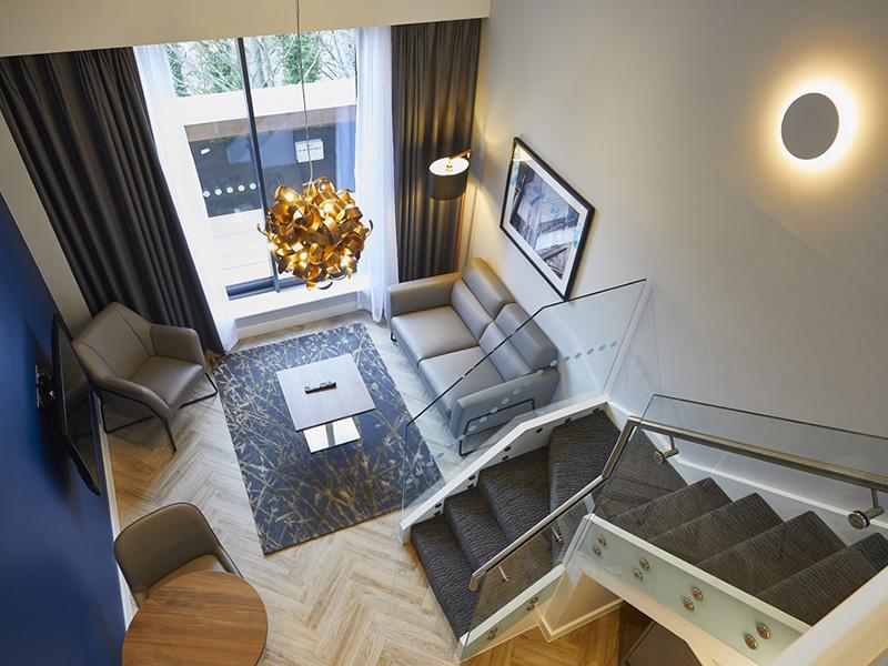 Loft with Balcony