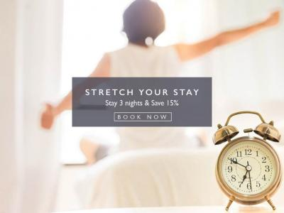 Stay and save 15%