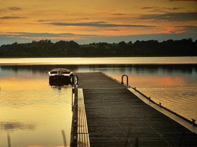 autumn boat