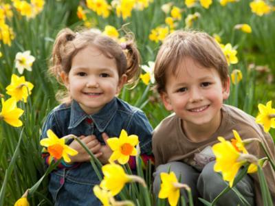 Spring Kids Daffidols