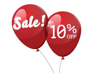 January Sale 10% Off