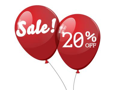 January Sale 20% Off