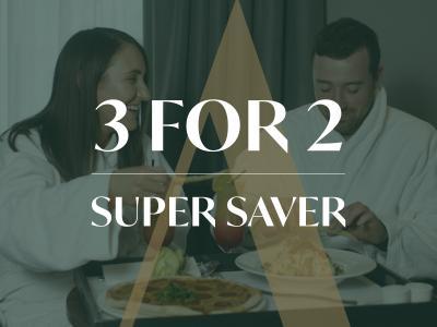 3 For 2 Offer