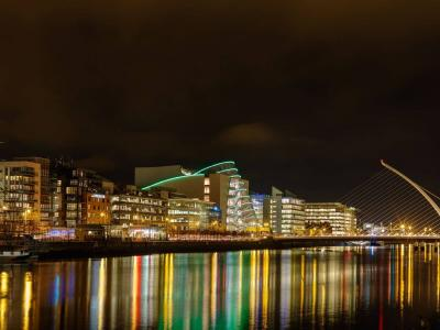 Dublin at night time