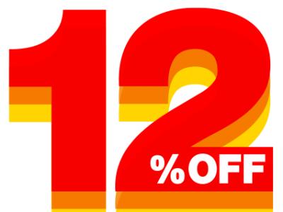 12% Off Image