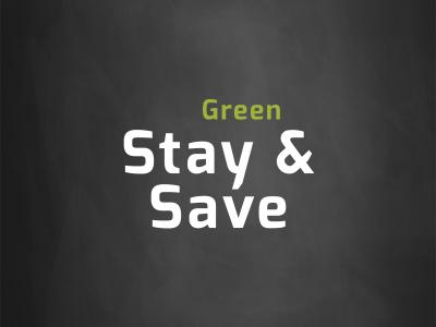 stay green and save
