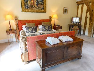 Principal Double Room- Hintlesham Hall Hotel