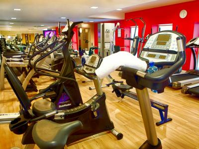 McWilliam Park Hotel gym cardio equipment.JPG