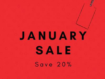 January Sale 20%