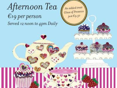 aft tea tent card