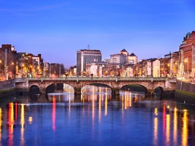 Dublin Banks of Liffey