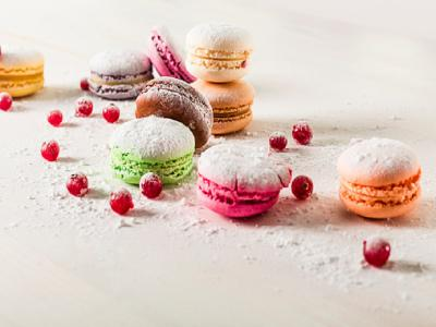afternoon tea macaroons