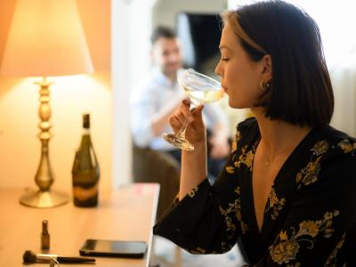 Autumn wine and dine
