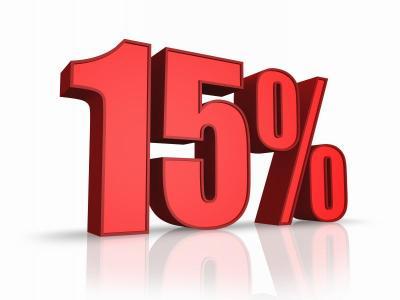 15percent