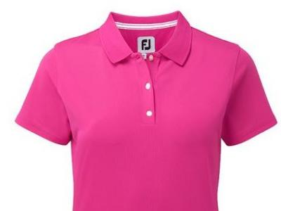 FJ Ladies Polo Shirt Pink