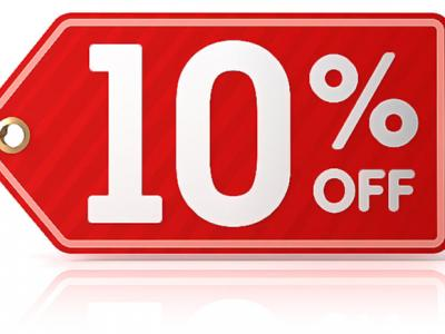 Flash Sale 10% OFF