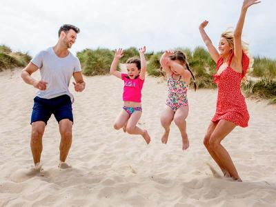 Beach Summer Family Fun