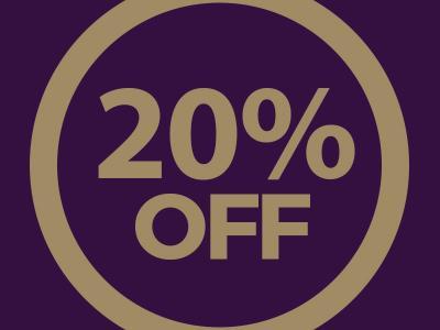 20% Sale