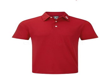 FJ Red Mens Polo Shirt