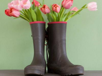 Wellies In Spring