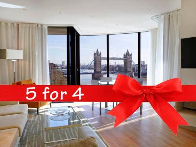 5 for 4 at Cheval Three Quays