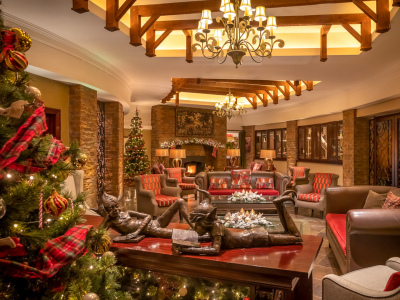 Christmas Fota Lobby