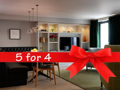 5 for 4 at Cheval Knightbsbridge