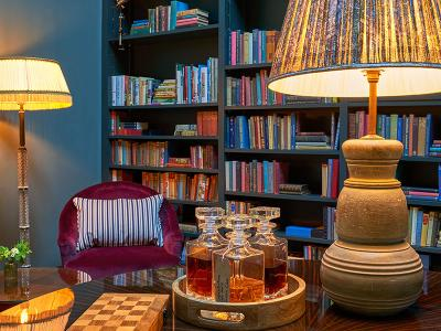 The Mitre Hotel - Library