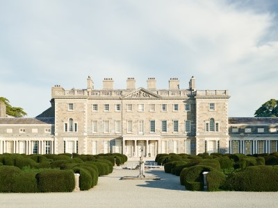 Carton House facade new