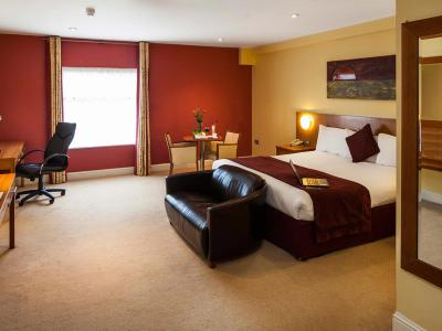 Central Hotel Tullamore Bedroom