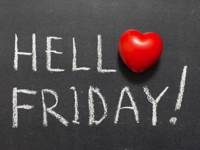 Hello Friday with heart