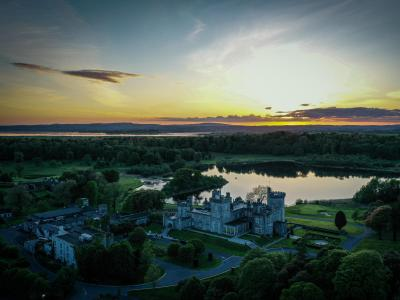 Dromland Castle Hotel Sunset