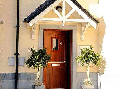 Self Catering - Front Door - Sept