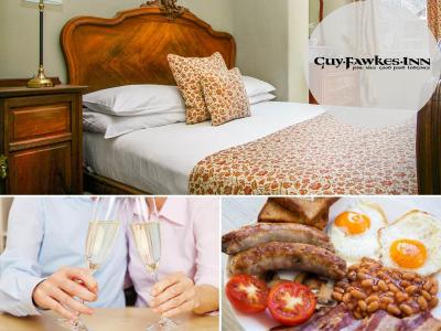 Bed, breakfast prosecco