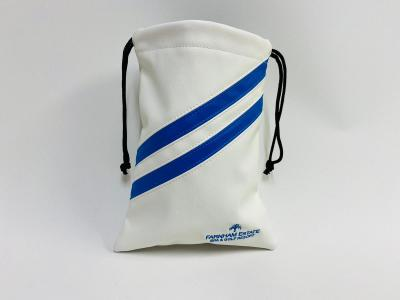 White and Blue  Golf Tote Bag