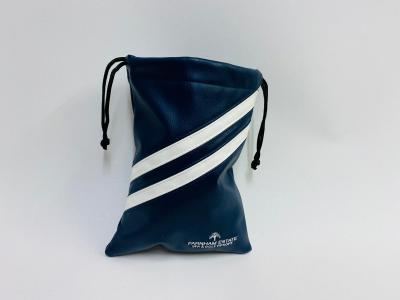 Navy and White Golf Tote Bag