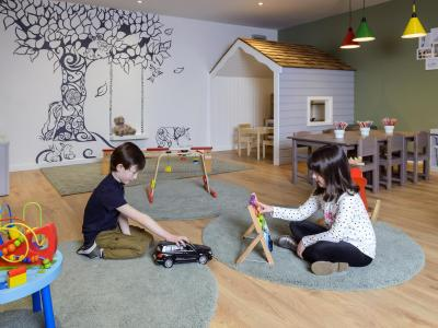 Playroom for children at Manor West Hotel, Tralee