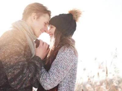 Couple Winter Mc Wil