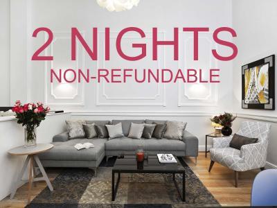 2 Nights non refundable