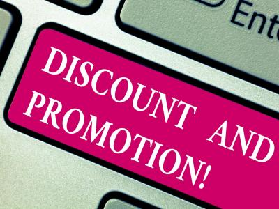 Discount & Promotion keyboard tab