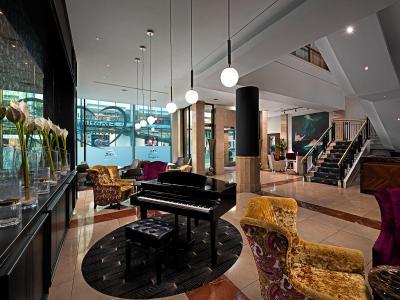 The Savoy Hotel Lobby