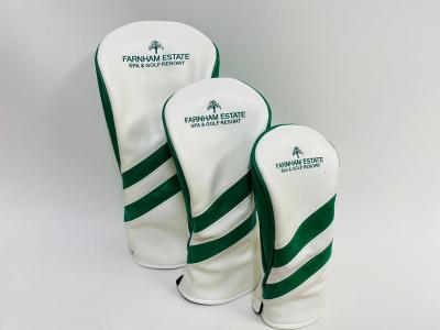 Headcover Set White and Green