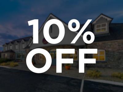 10 % Off