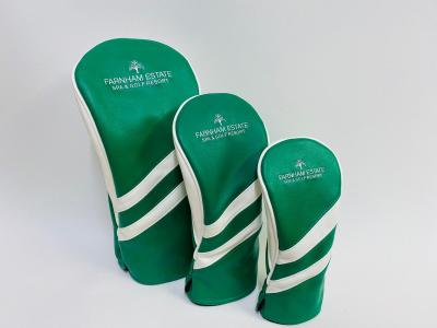 Headcovers Cover Set Green and White